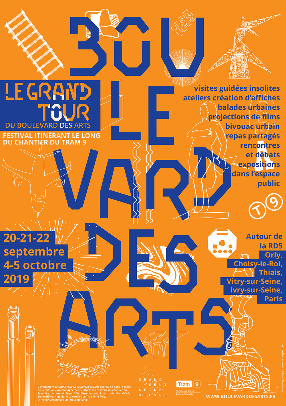 Le Grand Tour du Boulevard des Arts